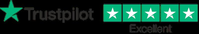 5 Stars Trustpilot