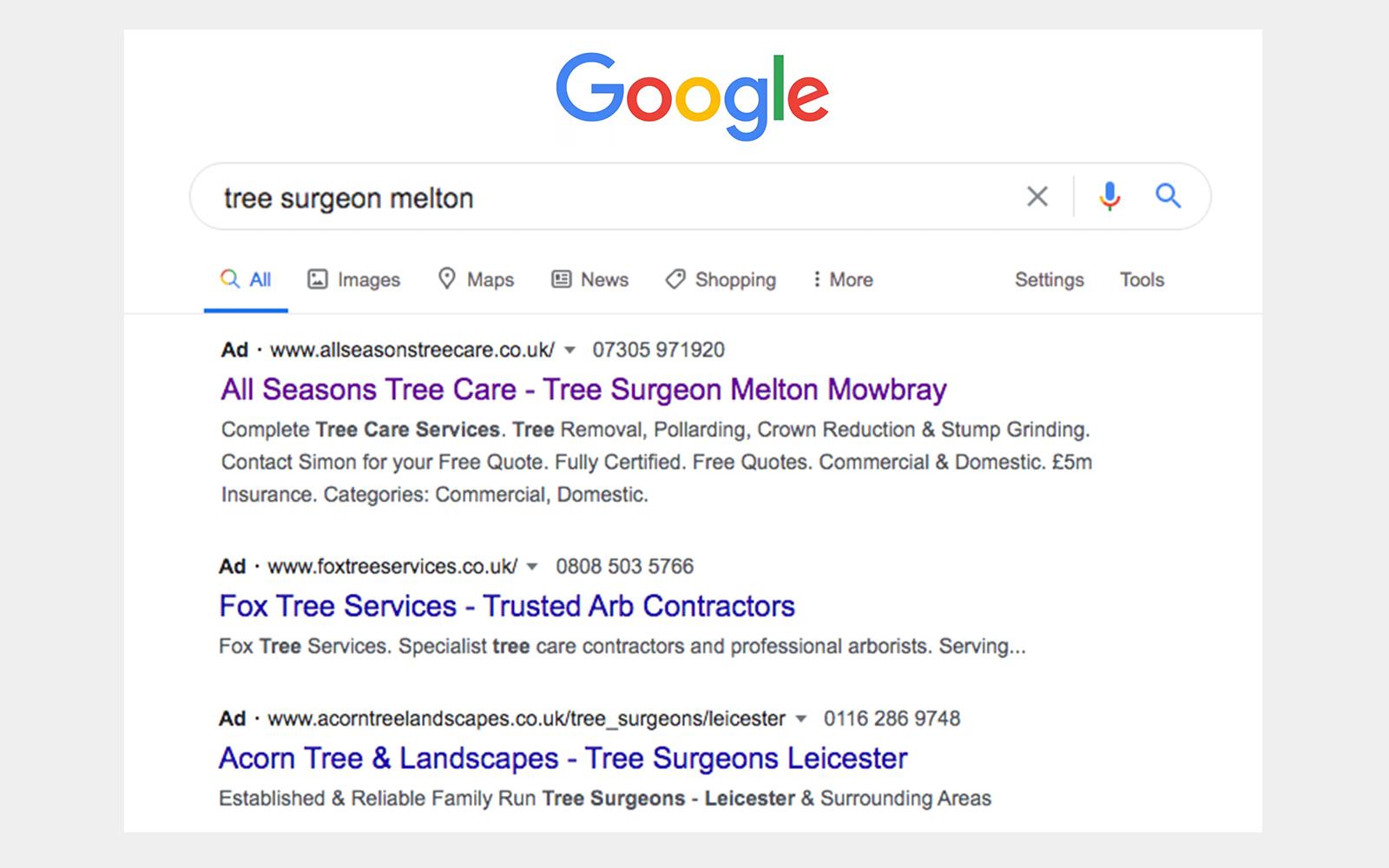 Google ads setup and supporrt